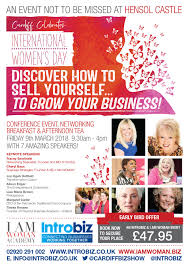 march 2018 womel co introbiz s international s day conference event at hensol castle