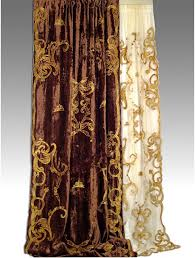 Brown Gold Curtains Debage S Curtains Collection