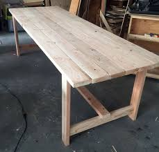Ana White Picnic Table Ana White Beginner Farm Table 2 Tools 50 Lumber Diy Projects