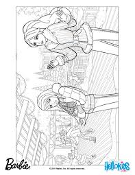barbie christmas coloring pages free large images chicos y