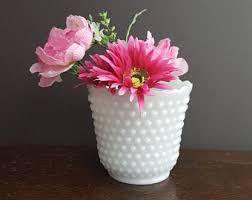 glass flower pot etsy
