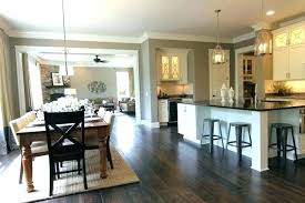 kitchen dining room design ideas open kitchen dining and living room designs thecreativescientist