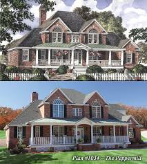 House With Porch by The Peppermill House Plan Mother U0027s Plans Pinterest House
