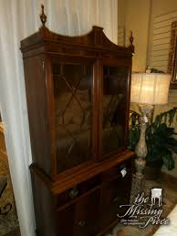 are curio cabinets out of style vintage federal style curio cabinet with two crown glass panes