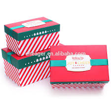 christmas boxes wholesale custom luxury gift box christmas gift box packaging
