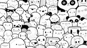 how to draw doodle faces just a doodle characters