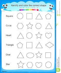 articles with colours and shapes worksheets pdf tag color by