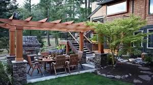 Idea For Backyard Landscaping by Landscaping Ideas Backyard Landscape Design Ideas Youtube