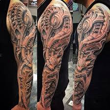 the 25 best mechanical sleeve tattoo ideas on pinterest