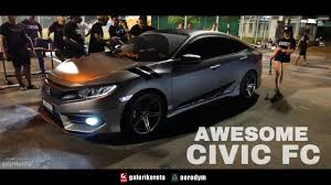 honda civic modified white honda civic 2017 modified xo autosport street style in malaysia
