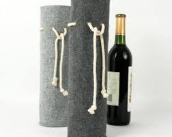 wine gift bag felt wine tote wine holder wine gift wine carrying bag bottle
