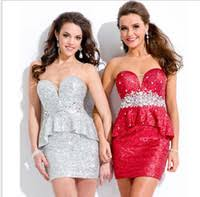 canada pink bling cocktail dresses supply pink bling