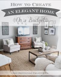 12th and white how to create an elegant home on a budget 7 tips