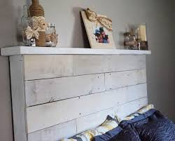 Headboards Made With Pallets How To Make Your Own Diy Pallet Headboard