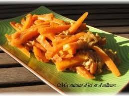 cuisiner les germes de soja wok de carottes et germes de soja recette ptitchef