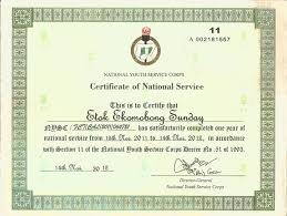nysc code for states in nigeria nysc press board all student forum
