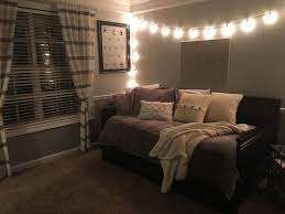 White Bedroom Pop Color 13 Year Old Neutral Bedroom Makeover Grey Khaki White