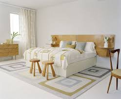 bedrooms natural modern bedroom with solid wood nightstand also