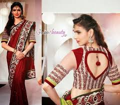 77 best saree blouse designs images on pinterest saree blouse