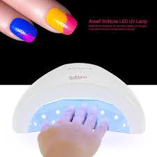 amazon com anself sunone led uv gel curing lamp light nail