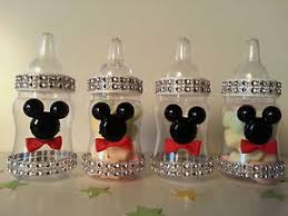 mickey mouse baby shower decorations 12 mickey mouse fillable bottles baby shower favors prizes
