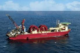 helix u0027s express commences subsea installation work offshore israel