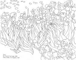 22 starry night coloring page van gogh starry night coloring page