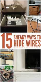 diy home improvement hacks best 25 hiding wires ideas on pinterest hide tv cables tv