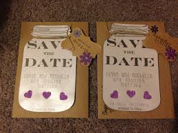 save the date ideas diy diy save the dates