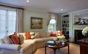 Family Room With Sectional Sofa Queen Sleeper Sectional Sofa Family Room Eclectic With Built In