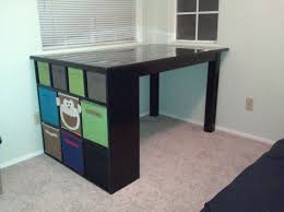 Craft Table Bedroom Dazzling Craft Table With Storage Furniture Image Of In