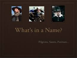thanksgiving and pilgrims what s in a name