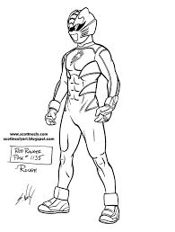 Power Rangers Jungle Of Furyscott Neely Design O Strator Power Ranger Jungle Fury Coloring Pages