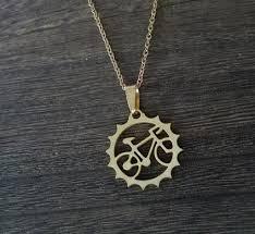 unique charm 1pcs rider bicycle pendant necklace beautiful unique charm jewelry
