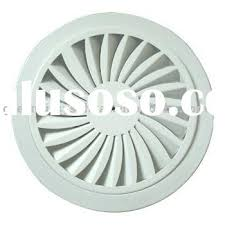 Round Ceiling Vent Covers by Round Plastic Ceiling Diffuser Grille Register For Sale Price
