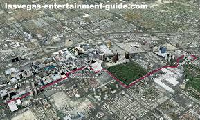 Las Vegas Hotels On The Strip Map by Best Las Vegas Strip Maps
