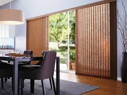 Another Word For Window Blinds Patio Door Window Treatment Ideas Featuring Vertical Blinds Be Home
