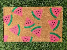 some really great and trendy doormats
