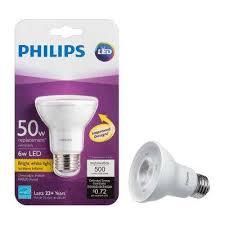 Par20 Halogen Flood Lights Par20 Led Light Bulbs Light Bulbs The Home Depot
