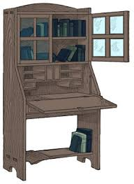 Free Desk Plans Combination Bookcase And Desk Plans Free Plans
