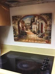 kitchen tile murals tile art backsplashes hangable tile mural 17 u0027 x 25 5 u0027 kitchen backsplash durable