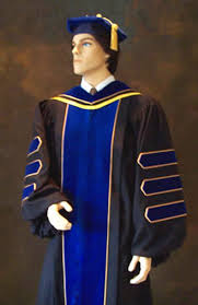 graduation cap and gown including doctoral and phd gowns for