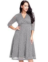 lookbookstore women u0027s plus size lace bridal formal skater dress