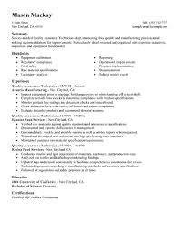 Cover Letter For Mckinsey Sample Resume For Quality Assurance Manager Resume For Your Job