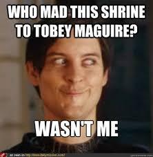 Tobey Maguire Meme - meme tobey maguire 28 images tobey maguire uncle ben meme www