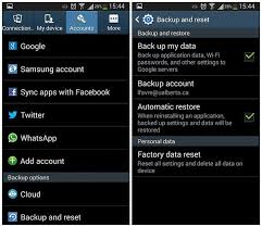how to reset android phone how to reset your android phone tablet