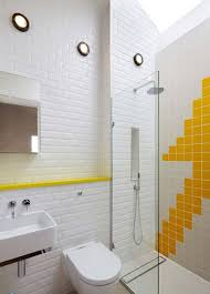 Bathroom Yellow And Gray - 33 yellow and white bathroom tiles ideas and pictures