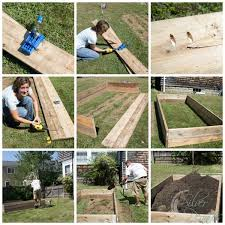 How To Install A Raised Garden Bed - how to build raised garden beds finding silver pennies