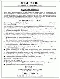 type of resume paper resume examples retail