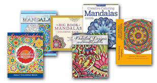 mandala happiness coloring books
